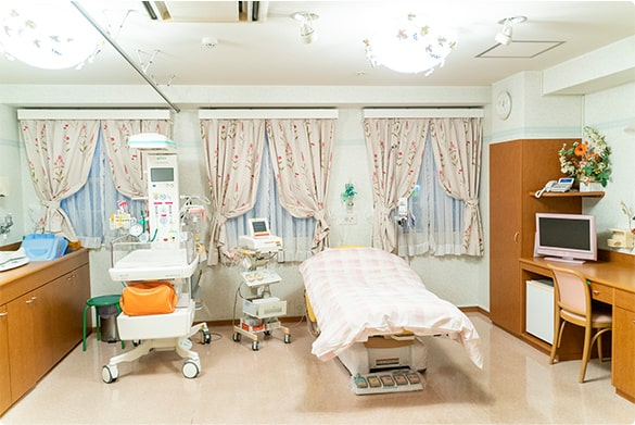 陣痛から出産までひとつの部屋