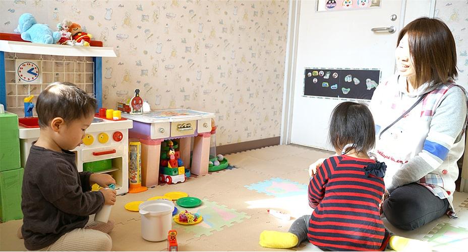 院内託児サービス(無料)